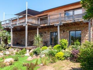 Location maison Sud-Corse à Pinarello Villa Casasou complête, piscine chauffée