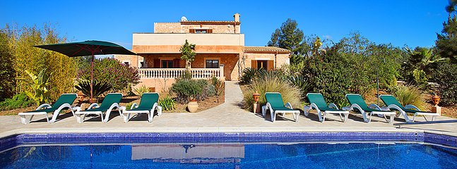 5 bedroom Villa in Cas Concos, Balearic Islands, Spain : ref 5634571