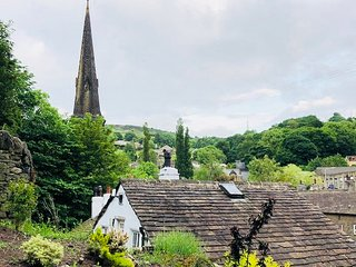 Silk Mill Chase - Peaceful apartment with lovely hillside views.