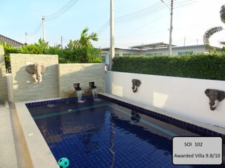 LUXURY PRIVATE POOL VILLA HUA HIN ( Awarded 9.8)
