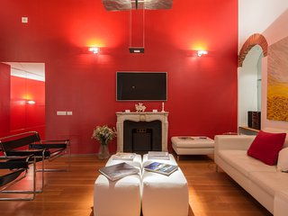LUXURY LOFT 2 BEDROOMS 3 BATHROOMS IN THE CENTRE OF MILAN NEAR MONTENAPOLEONE