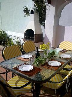 Terrace and grill
