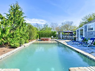NEW! Nantucket Cottage Retreat w/ Pool & Hot Tub!