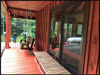 1 BR The Trout's Stream Luxury Cabin Rental in Cross Fork, PA