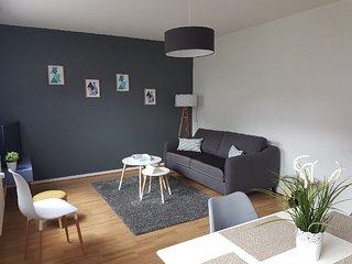 Appartement 53 m2 800 metres du centre très calme