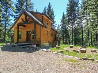 NEW LISTING! Modern cabin w/ space, full kitchen, forest views - near river