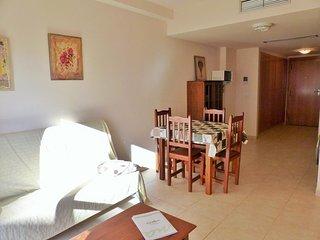 Apartamento de dos habitaciones dobles