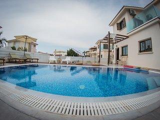 Villa Elena (Private pool, 30 meters from beach,Near to Nissi beach)