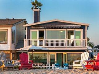 20% OFF OCT - Beachfront w/ Sunset Views, Jacuzzi, Spacious Deck & Patio