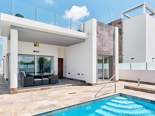 Ultra Modern Private Villa Villamartin Orihuela Costa Pool and Table Tennis