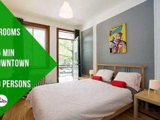 Jimmy · Marvel Apt, 10 pers, 20 min downtown, 5 bedrooms