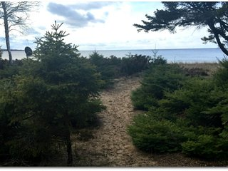 STONINGTON CLEARVIEW COTTAGE: Enjoy the beautiful view of Lake Michigan! Pets we