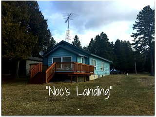 NOC'S LANDING (Westside of Stonington Pen.) Great fishing! On Little Bay De Noc,
