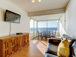 Amplio departamento frente al mar - Spacious apartment in front of the sea