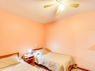 Comfortable room with free WiFi and access to the building's amenities