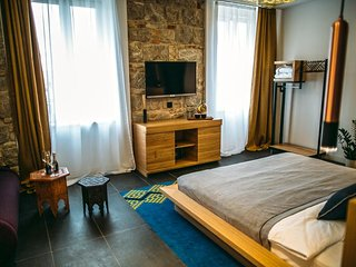 Rooms Lejletul - Comfort Double Room with Square View (Bedr)