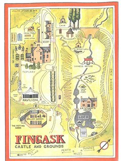 Map of Fingask Estate