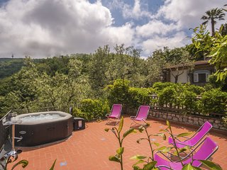 Wonderful VILLA FEDELA in the hills of Sorrento with terrace and seaview