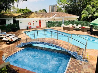13 Bedroom Mansion in Poblado with Pool, DJ Setup, Maids, Drivers