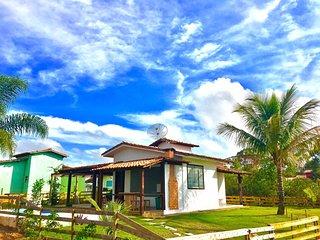 Charme e Aconchego - Casa para 10 Pessoas