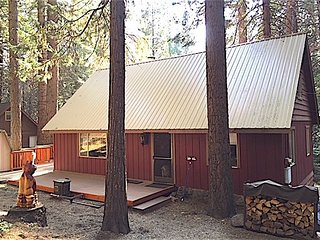 BLACK BART - cozy updated Snowshoe Springs cabin. Pet Friendly, Linens inc.