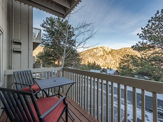 NEW! Estes Park Mtn Condo w/4 Decks & 2 Fireplaces