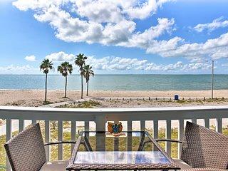 Stunning Beachfront Corpus Christi Condo w/Pool!