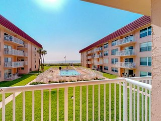 NEW LISTING! Waterfront condo w/balcony, courtyard, shared pool & beach access