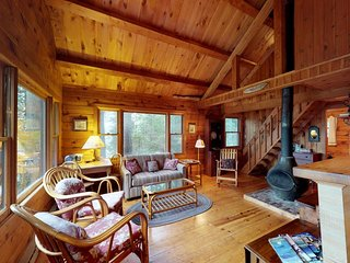 Waterfront cabin w/ amazing views from the deck & lake access - Dogs welcome!