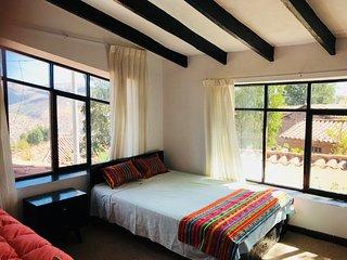 Habitacion Vistas Cusco Casa Rural bano privado