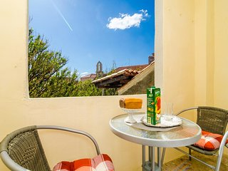 Rooms Vlaho - Double or Twin Room with Loggia and Garden View