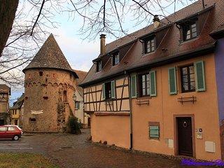 2Calme, spacieux, confortable, au pied des Vosges et vignoble, sud, WiFi gratuit