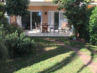 Jardin y terraza