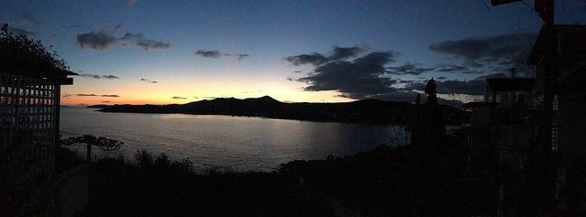 Sunset  from the veranda 3