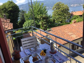 Titta apartment with lake view in Verbania Suna
