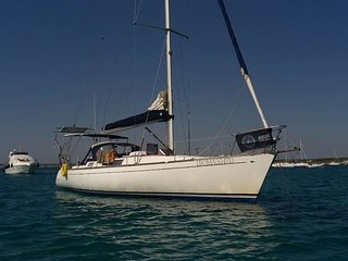 In barca a vela nel Salento