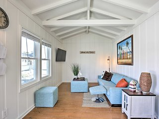 NEW! Breezy San Diego Cottage -Steps to Beach/Bay!