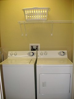 Private laundry room in the house