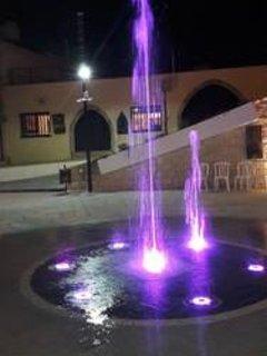 Tala square at night.