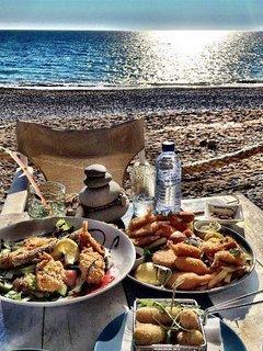 Lunch at Sea You Beach Bar