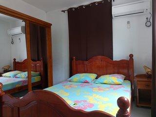 Chambre principale, climatisée