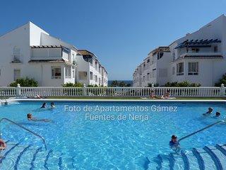 Fuentes de Nerja.Centro.Playa,Wifi 50 mb, Piscina.Climatizado, Todo incluido.