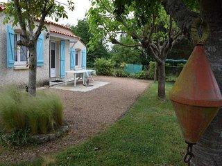 Maison 3 chambres avec jardin et parking , proche plage du veillon a Bourgenay
