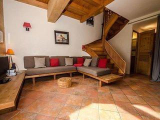 Chalet 3 chambres pour 6 personnes sur les pistes du Brévent