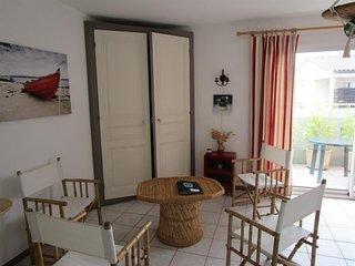 appartement T3, chateau d'olonne, residence les biches