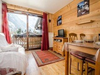 Bel appartement situe aux Praz - Tres belle vue Mont-Blanc