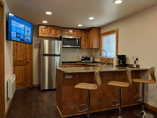 West Suite, 2 Bedrooms, 1 Bath, Kitchen, Dining Rm, Living Rm. Utility Rm.