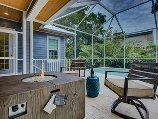 600 ft. to Shell Beach,  Pool/Spa, Fire Pit, New & Custom Nantucket Style Home,