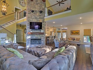 NEW! Immaculate Home w/Boat Slips on Greers Ferry!