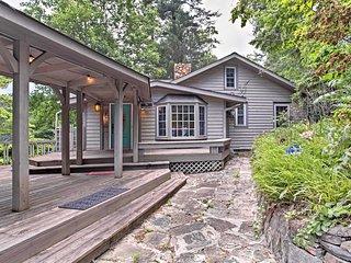 Hendersonville Camp House w/ Wraparound Deck!